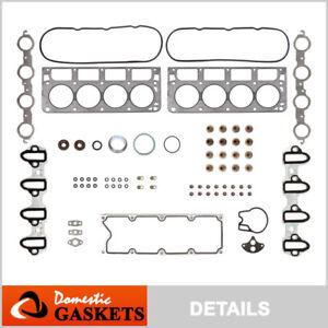 Fits 99-01 Chevrolet Silverado GMC Sierra Yukon 4.8L 5.3L OHV Head Gasket Set