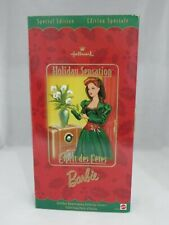 Holiday Sensation Barbie Hallmark Mattel 1998 Special Edition