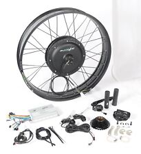 """eBikeling 48V 1200W 26"""" FAT Direct Drive Rear Electric Bicycle Conversion Kit"""