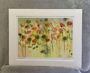 Open Edition Flower Print