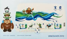 Canada Stamps, First Day Cover, Vancouver 2010 Olympic and Paralympic Games