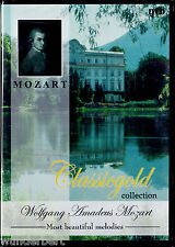 "DVD neu & ovp "" Wolfgang Amadeus MOZART - Most beautiful melodies "" Classicgold"