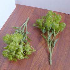 Artificial Lotus Grass Plastic Plants Set of 4 Pcs