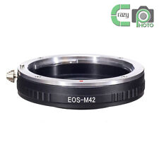 EOS-M42 Macro Adapter for Canon EF Lens to M42 Screw Zeiss Pentax Mamiya Camera