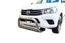 "Bullbar Nudge Bar S/S 304 3"" Grille Skid Guard for Toyota Hilux 15-18"
