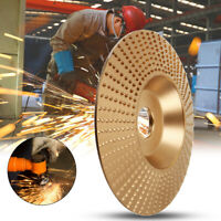 Tungsten Carbide Grinding Wheel Wood Sanding Carving Shaping Disc Angle Grinder