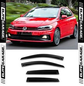 Fits VW Volkswagen POLO MK6 -  Weathershields Side Visors GTI (17-20) 4 Door