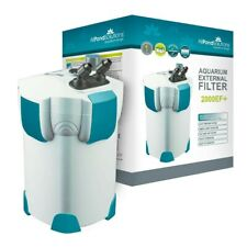 All Pond Solutions 2000EF+ with UV Steriliser - Aquarium External Filter - White