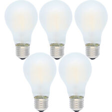 5x A60 4W Dimmbar Glühfaden E27 LED Glühlampe Matt Glas Warmweiß 2700K 280LM