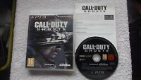 CALL OF DUTY GHOSTS PLAYSTATION 3 PS3 FPS SHOOTER FAST POST COMPLETE
