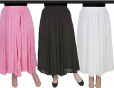 Peasant, Boho Long Plus Size Skirts for Women