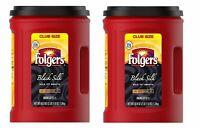 Folgers Black Silk Coffee (43.8 oz.) 2 pack
