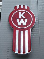 NEW KENWORTH BUG LOGO METAL HOOD EMBLEM FOR SIDE OR GRAB HANDLE