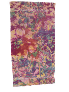 Fresco Towels Abstract Floral PINK Bath Towel