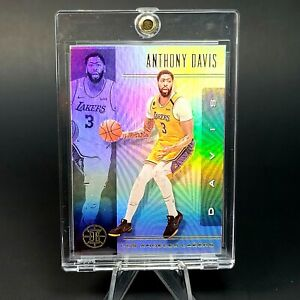 Anthony Davis HOLO LAKERS CARD - PANINI REFRACTOR - MINT - INVESTMENT
