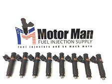 Motor Man - 5C3E-DC Flow Matched Fuel Injector Set (8) Ford Truck & Lincoln 5.4L
