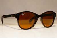 RAY-BAN Mens Womens Designer Sunglasses Brown Square RB 4203 714 22670