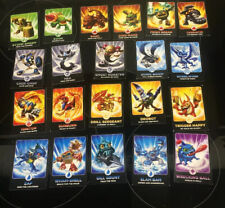 Job Lot  collection 21 Skylander Giants Cards Original Characters