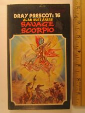 LIBRO in brossura SAVAGE SCORPIO ALAN Akers 1978 stampa 1st [Z96b]