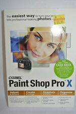 Corel Paint Shop Pro X [OLD VERSION] - New Sealed Retail Box-