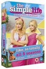 The Simple Life Complete Seasons 15 DVD TV Reality Series Paris Hilton