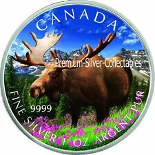 2012 Canada Wildlife Series Moose - 1 Ounce Pure Silver Coin 3 of 6!!