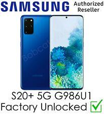 Samsung Galaxy S20+ Plus 5G G986U1 Aura Azul ATT Sprint Verizon desbloqueado de fábrica