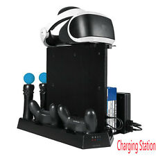 Multifunction Charging Station Charger Base Cooling Stand For PS4/SLIM/PRO/VR