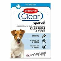 Bob Martin Clear Spot On Flea Treatment Small Dogs Kills Fleas Ticks