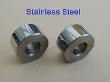 68-9441, BSA A65, SEAT FIXING DISTANCE PIECE, PAIR, STAINLESS STEEL