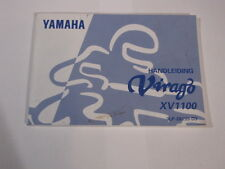 YAMAHA XV1100 VIRAGO 1997  HANDLEIDING INSTRUKTIEBOEK OWNERS MANUAL