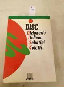 DISC dizionario italiano Sabatini Coletti