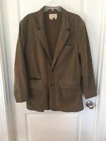 MENS THE TERRITORY AHEAD Cotton Field Barn jacket coat BROWN L travel Jacket