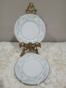 """Set Of 4 Valmont China """"Royal Wheat"""" 6-1/2"""" Bread And Butter/ Dessert Plates In"""