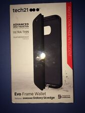 Lot Of 2pc Tech21 Evo Frame Wallet For Samsung Galaxy S6 Edge Case