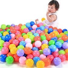 200pcs Soft Plastic Colorful Children Secure Ocean Ball Baby Pits Swim Toys 4cm