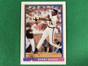 1991 Bowman #380 Barry Bonds SLUG Pittsburgh Pirates