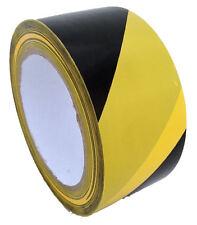 1 Rolle 33Mx50mm PVC Klebeband Signalband Warnband Markierungsband gelb/schwarz