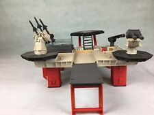 Fuerza de acción vintage de GI Joe sala de control de plataforma de batalla táctica 1985 Repuesto..