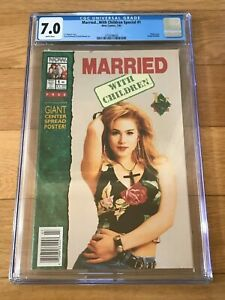 1992 Married with Children Special #1 CHRISTINA APPLEGATE Kelly Photo Cover CGC