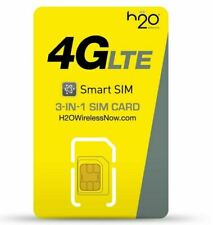 H20 Wireless Sim Card - At&T Network