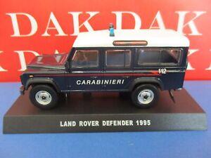 Die cast 1/43 Modellino Auto Carabinieri Land Rover Defender 110 1995