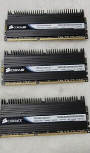 Corsair Dominator TR3X6G1600C8D 6GB (3x2GB), 1600MHz, DDR3