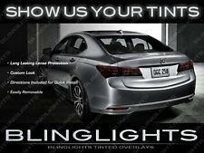 Tinted Taillamps Film Overlays Covers for Acura TLX ( all years )
