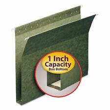 Smead 1 Capacity Box Bottom Hanging File Folders Letter Green 25box 64239