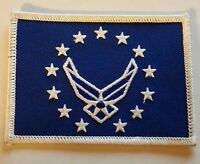 """UNITED STATES  AIR FORCE  PATCH-FLAG LOGO III (2-1/2"""" X 3-1/2"""")"""