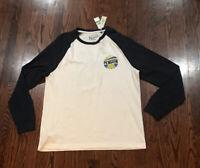 NWT$55 Mens Penguin Long Sleeve Tee Shirt Size Large