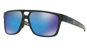 NEW OAKLEY CROSSRANGE PATCH Matte Black Prizmatic Prizm Sunglasses OO 9382 1060