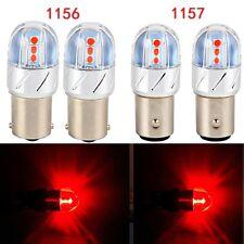 4x 1156 1157 Red LED Light Car Turn Signal Taillight Brake Bulb For Honda Accord