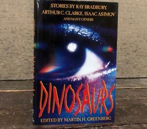 Dinosaurs: Stories by Ray Bradbury, Arthur C. Clarke & Asimov SIGNED by Bradbury